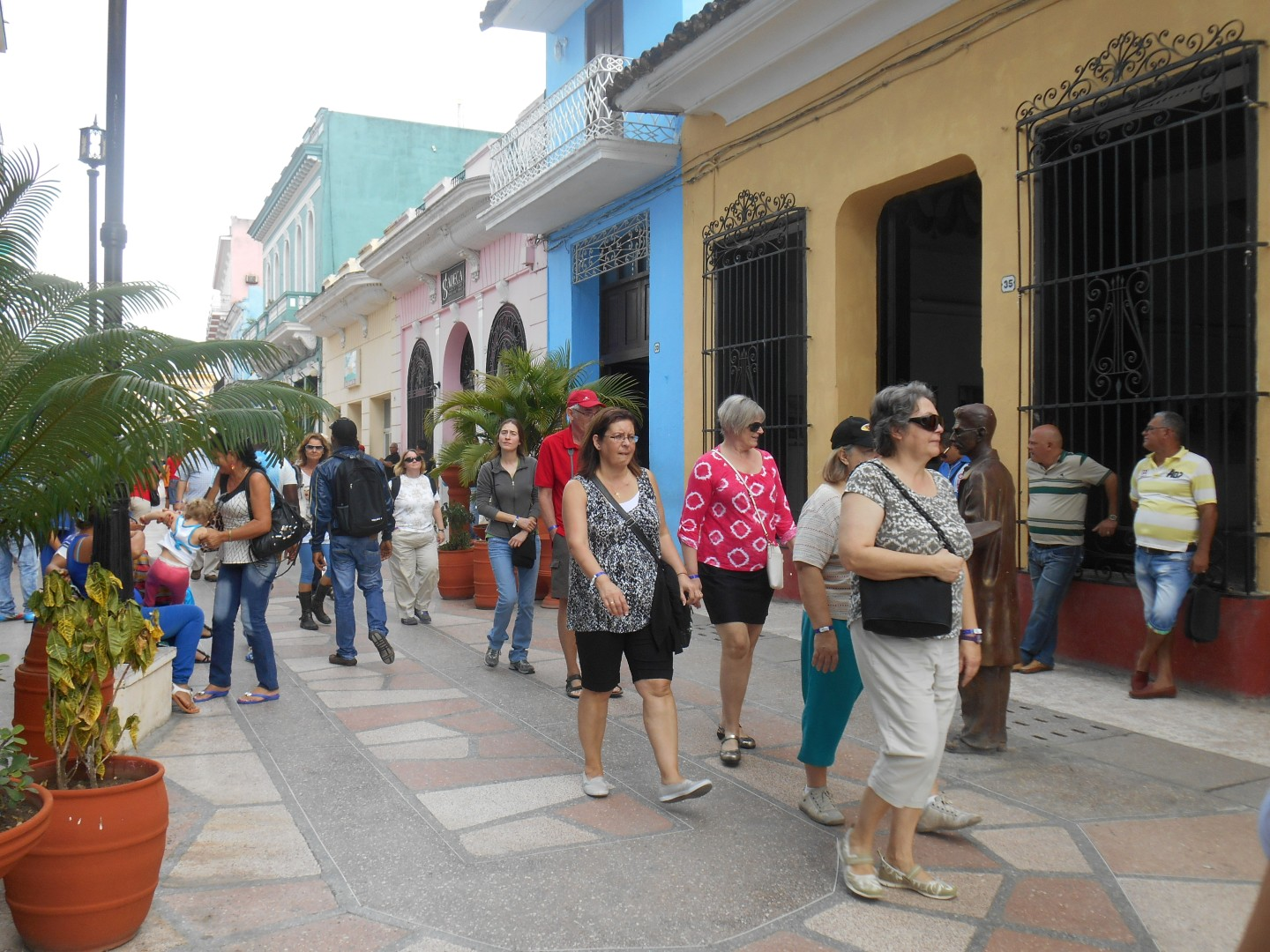 the village of the holy spirit, sancti spiritus, tourism, boulevard, tourists