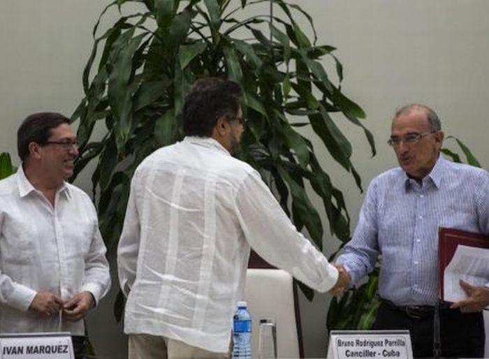 escambray today, colombian government, farc-ep, juan manuel santos, bruno rodriguez parrilla