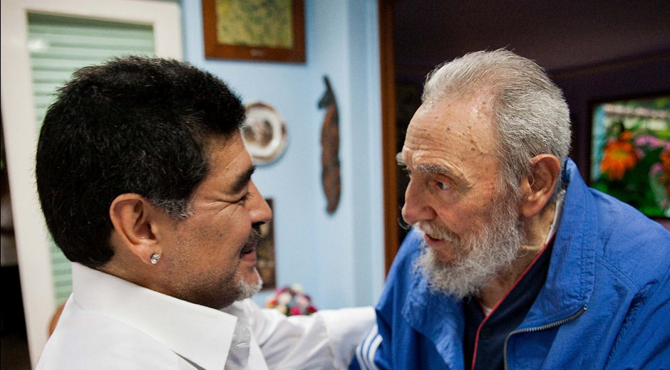 escambray today, fidel castro, cuban revolution, diego armando maradona