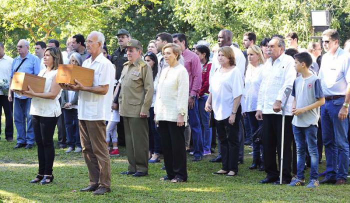 escambray today, fidel castro, raul castro, castro relatives, castro family, biran