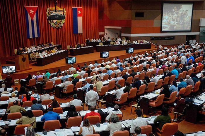 escambray today, cuba parliament, cuba parliamentarians