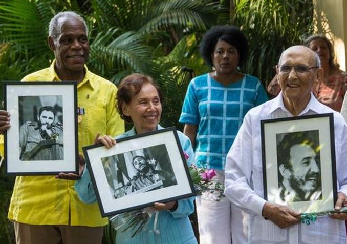 escambray today, danny glover, estela bravo, ernesto bravo, friendship medal