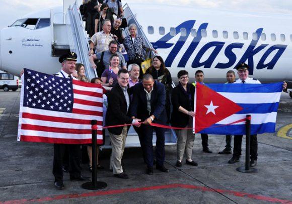 escambray today, usa, cuba, alaska airline