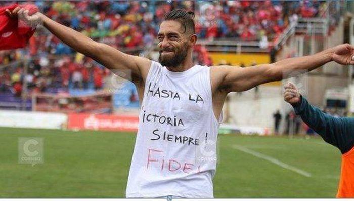 escambray today, soccer, peruvian soccer player, juan comingues, fidel castro