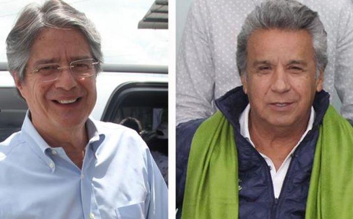 escambray today, ecuador presidential elections, lenin moreno, guillermo lasso, rafael correa