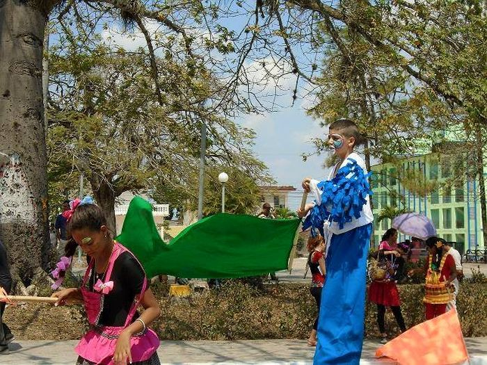 escambray today, olga alonso theater festival, amateur artists, fomento, art instructor