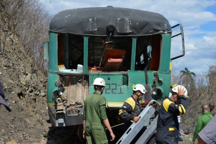 escambray today, railroad accident, railroad crash, collision, traffic accident