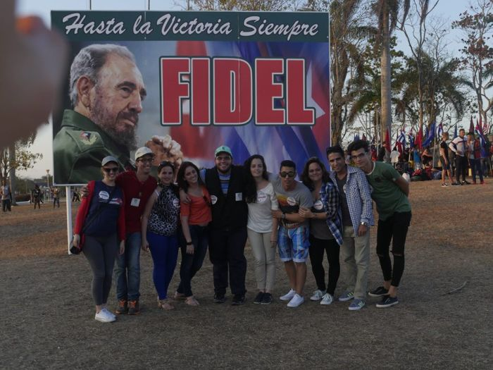 escambray today, april 4th, cuban youth, cuban revolution, che guevara