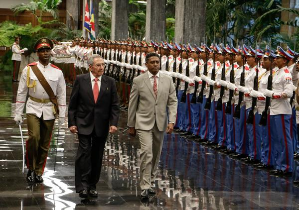 escambray today, raul castro, danny faure