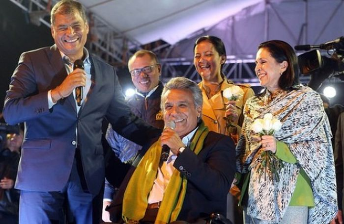 escambray today, ecuador, elections in ecuador, lenin moreno, rafael correa