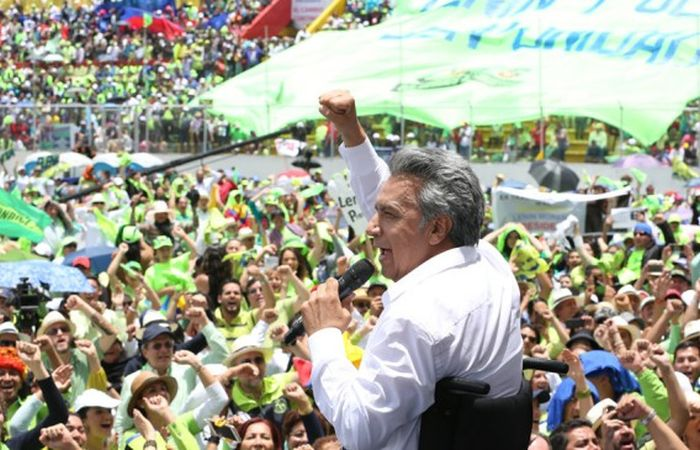 escambray today, ecuador, lenin moreno, alianza pais, elections in ecuador, rafael correa