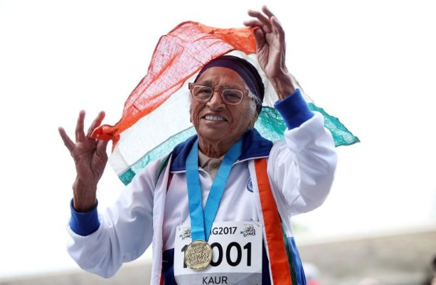 escambray today, indian centenarian athlete, indian athlete man kaur, world masters games