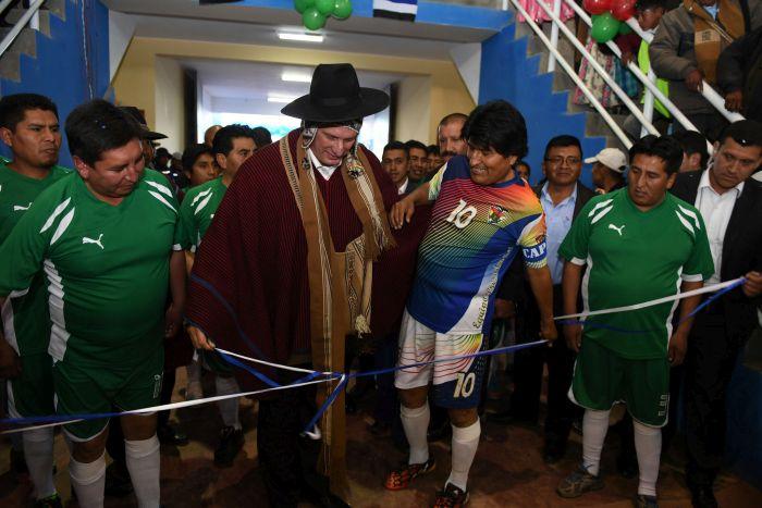 escambray today, miguel diaz canel, evo morales, bolivia