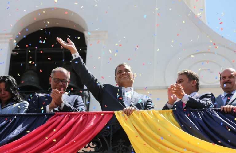 escambray today, ecuador, president rafael correa, alianza país party, citizen revolution