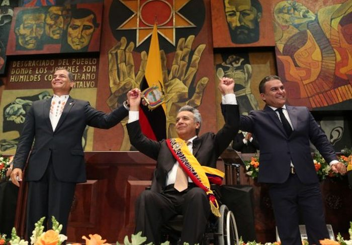 escambray today, lenin moreno, escambray today, ecuador, president rafael correa, alianza país party, citizen revolution