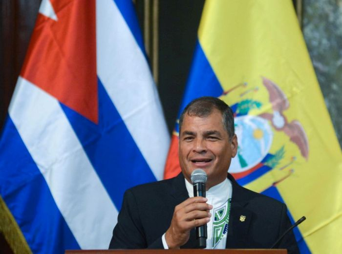 escambray today, ecuador, rafael correa, alianza país, university of havana