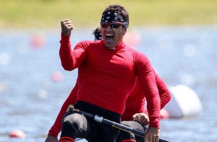escambray today, Cuban canoeists, Serguei Torres and Fernando Dayan Jorge, Canoe Sprint World Cup