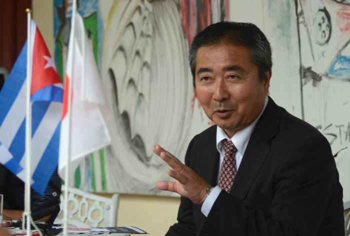 escambray today, sancti spiritus, japan, cuba, japanese culture, japanese ambassador to cuba masaru watanabe