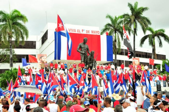 escambray today, may day, may day parade, 1st of may, may day rally