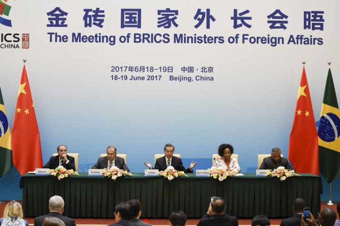 escambray today, brics, foreign ministers of brics