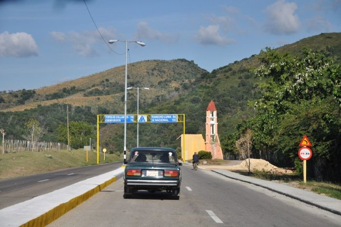 escambray today, trinidad-cienfuegos highway, circuito sur road, tourist corridor