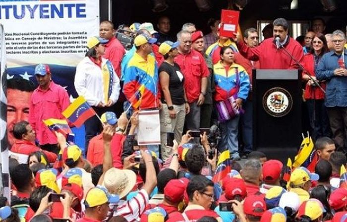 escambray today, venezuela, constituent assembly, nicolas maduro