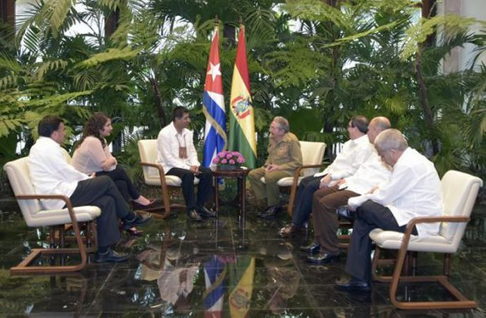 escambray today, raul castro, bruno rodriguez parrilla, cuba-bolivia relations