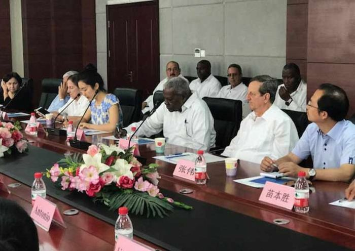 escambray today, esteban lazo, cuba parliament, cuba-china relations