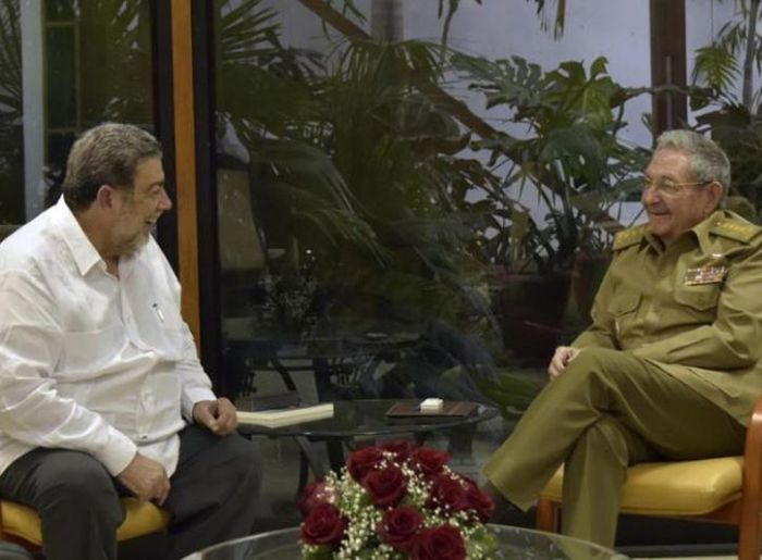 escambray today, raul castro, cuba-st. vincent and the grenadines relations