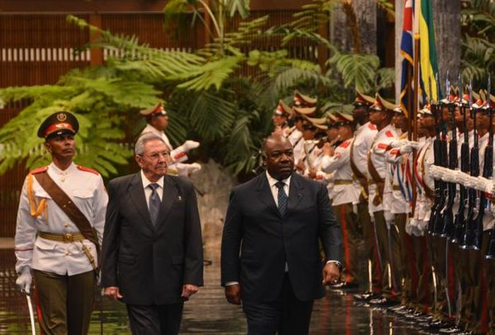 escambray today, cuban-gabon relations, cuba president raul castro