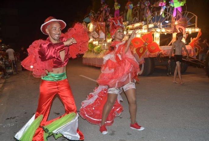 escambray today, carnival, santiago espirituano, popular party