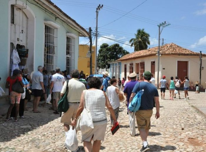 escambray today, trinidad de cuba, tourism, tourists