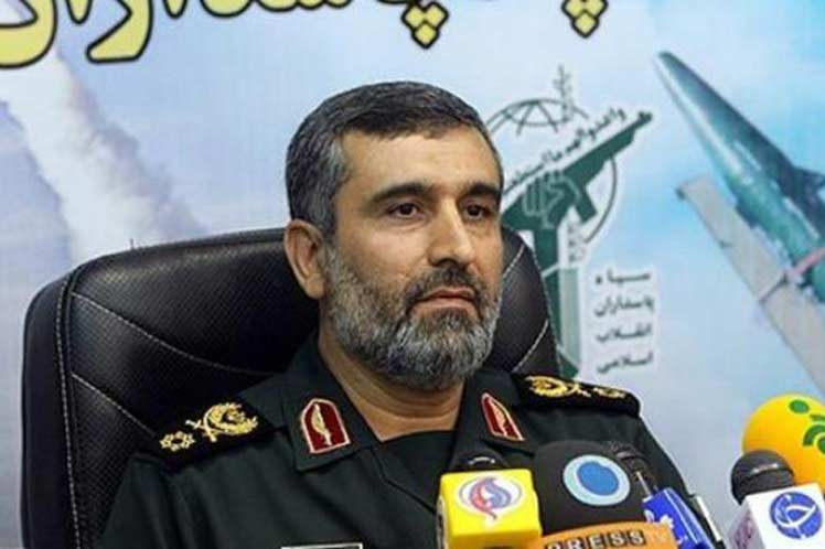 Iranian Brigadier General Amir Ali Hajizadeh Escambray Newspaper