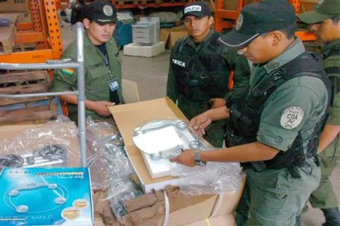 escambray today, customs controls, bolivia, smuggling