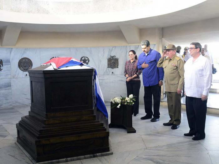 escambray today, fidel castro, cuban revolution leader fidel castro, nicolas maduro, raul castro, jose marti, santa ifigenia cemetery