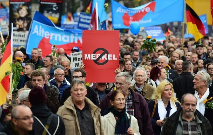 escambray today, germany, elections in germany, angela merkel, far-right