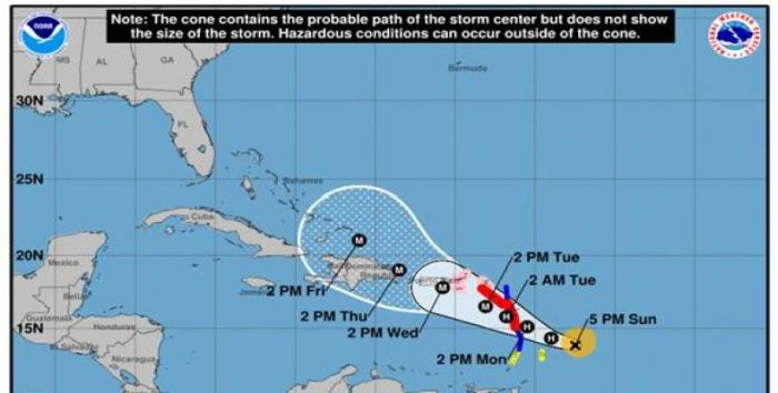 British Virgin Islands brace for Hurricane Maria