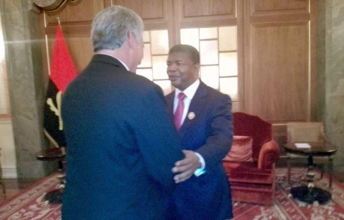 escambray today, miguel diaz-canel, angola president joao lourenço