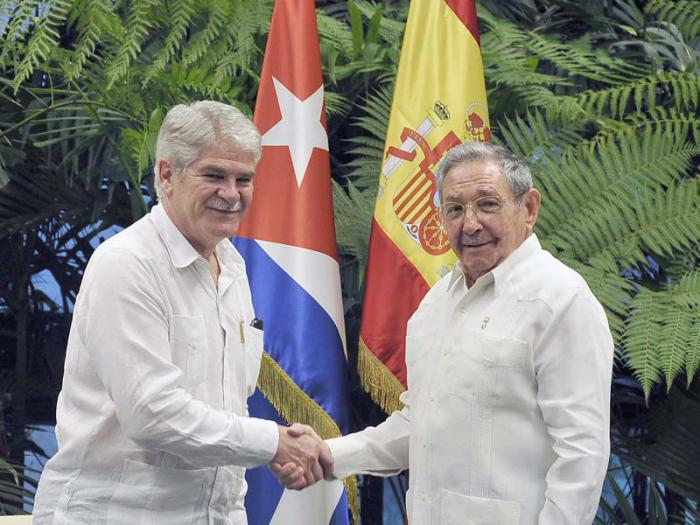 escambray today, cuba president raul castro, cuba-spain relations