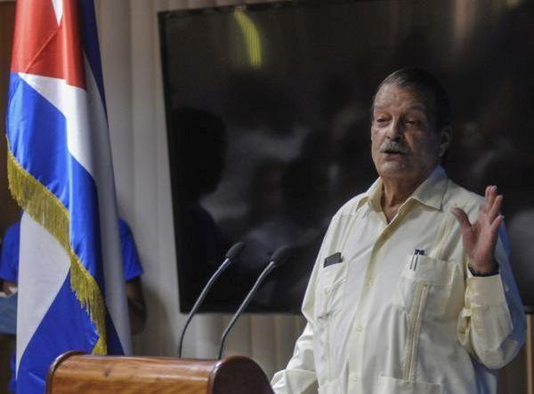 escambray today, us blockade against cuba, deputy foreign minister abelardo moreno fernández