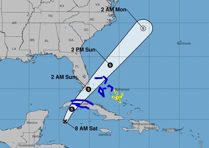 escambray today, heavy rains, tropical depression, defense council, weather