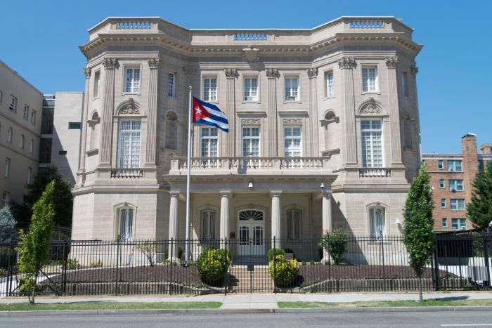 escambray today, cuban embassy in washington, cuban diplomats in washington, cuba-usa relations