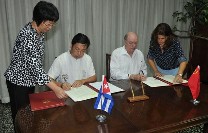 escambray today, cuba-china relations, economic relations, economic agreements