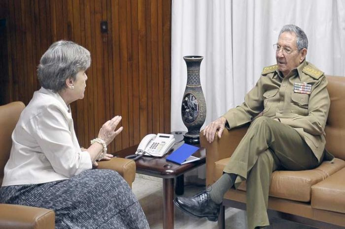 escambray today, cuba president raul castro, eclac, alicia bárcena