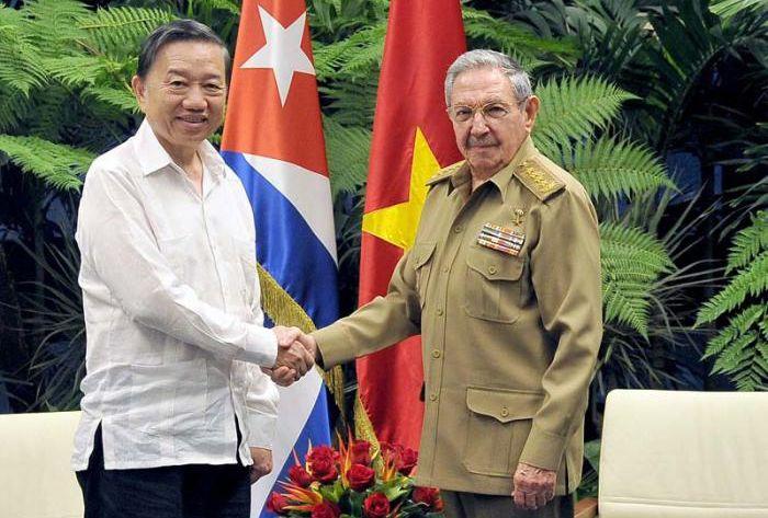 escambray today, cuba, vietnam, cuba president raul castro