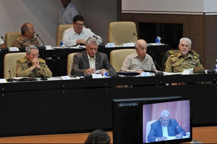 escambray today, raul castro, cuba parliament, cuba parliamentarians
