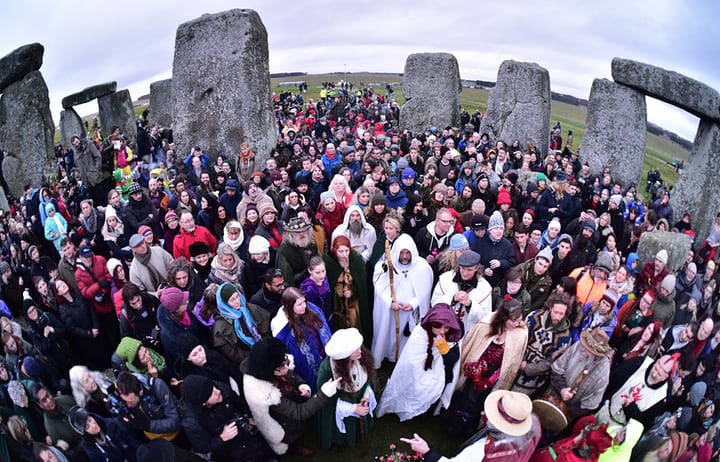 escambray today, solstice 2017, winter solstice, stonehenge