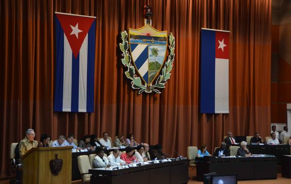 escambray today, cuba parliament, cuba parliamentarians, raul castro, national assembly of the people's power