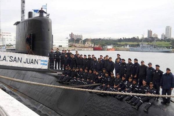 submarine ARA San Juan, Argentina