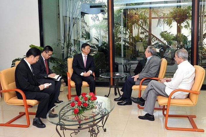 escambray today, cuba-china relations, raul castro